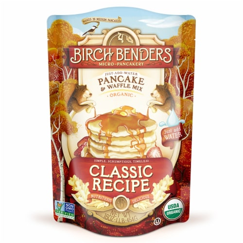 Birch Benders Classic Recipe Pancake & Waffle Mix Perspective: front