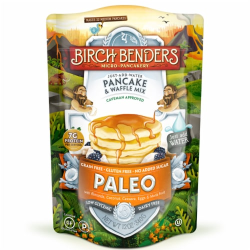 Birch Benders Paleo Pancake & Waffle Mix Perspective: front