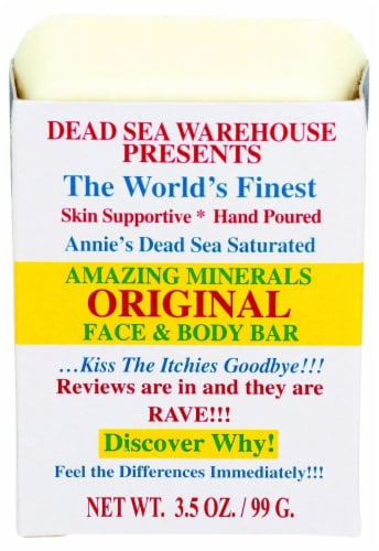 Dead Sea Warehouse Original Face & Body Bar Perspective: front