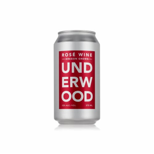 Underwood Rosé Wine Can Perspective: front