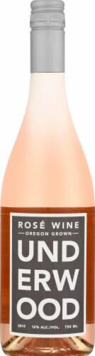 Underwood Rose Wine Perspective: front