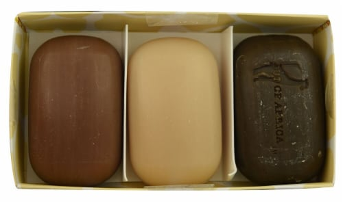 Out Of Africa Shea Butter Bar Soap 3 Pack Gift Set Perspective: front