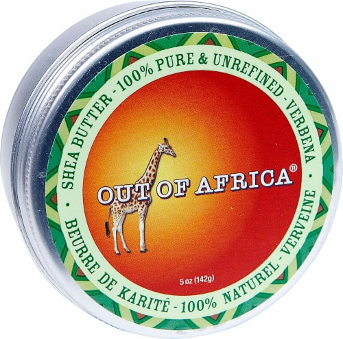 Out Of Africa Verbena Shea Butter Tin Perspective: front