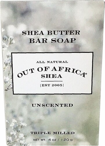 Out Of Africa Pure Shea Butter Bar Soap Unscented Perspective: front