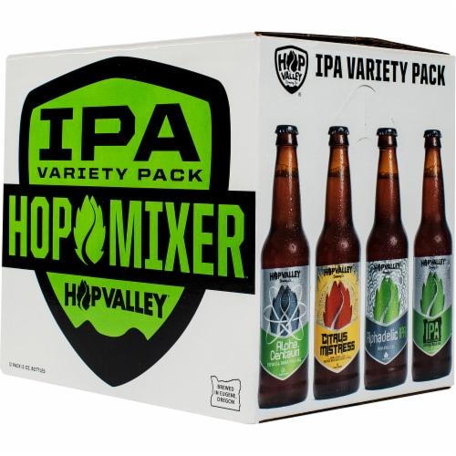 Hop Valley Hop Mixer Craft Beer Variety Pack Perspective: front