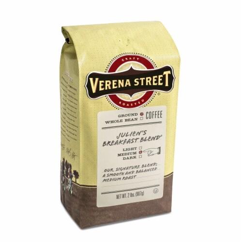 Verena Street Julien's Breakfast Blend Ground Coffee Perspective: front