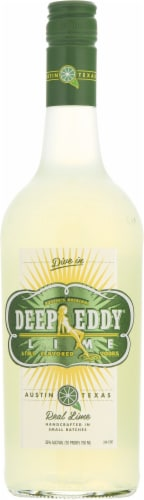 Deep Eddy Lime Vodka Perspective: front