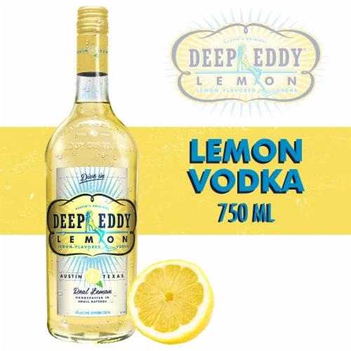 Deep Eddy Lemon Vodka Perspective: front