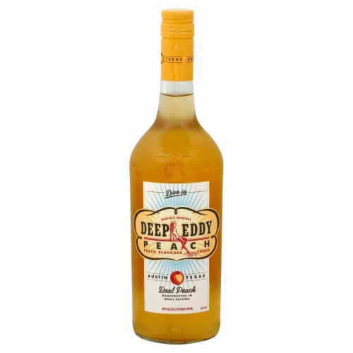 Deep Eddy Peach Vodka Perspective: front