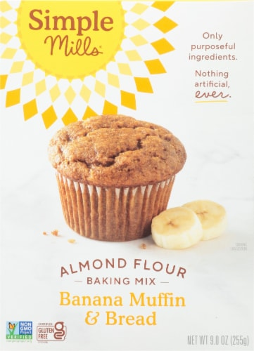 Simple Mills Banana Muffin & Bread Almond Flour Mix Perspective: front