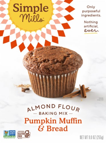 Simple Mills Pumpkin Muffin & Bread Almond Flour Baking Mix Perspective: front