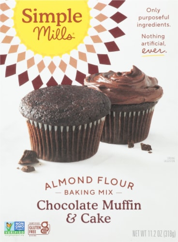 Simple Mills Chocolate Muffin & Cake Almond Flour Mix Perspective: front