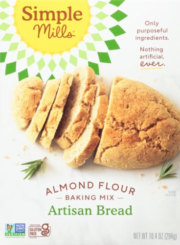 Simple Mills Artisan Bread Almond Flour Baking Mix Perspective: front