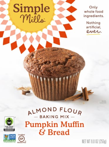 Simple Mills Fair Trade Pumpkin Muffin & Bread Mix Perspective: front