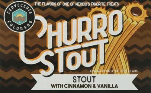 Cerveceria Colorado Churro Stout Perspective: front