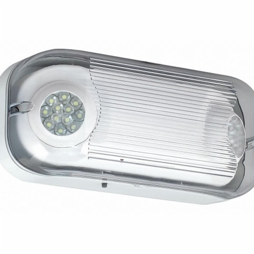Hubbell Lighting - Compass Emergency Light,LED,13-1/4  W x 5-3/8  L  CSWEU2LED Perspective: front