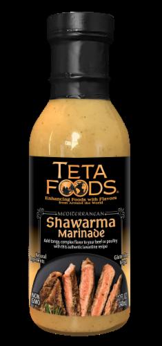 Teta Foods Shawarma Mediterranean Marinade & Cooking Sauce Perspective: front
