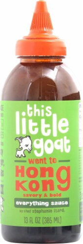 This Little Goat Went to Hong Kong Savory and Bold Everything Sauce Perspective: front