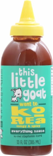 This Little Goat Went to Korea Tangy and Spicy Everything Sauce Perspective: front