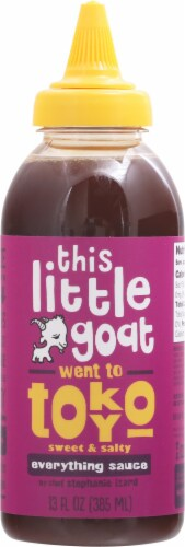 This Little Goat Went to Tokyo Sweet and Salty Everything Sauce Perspective: front