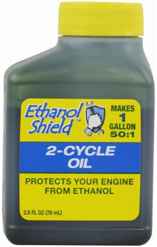 MaxPower Precision Parts Ethanol Shield 2-Cycle Oil - 2.6 Ounce Perspective: front