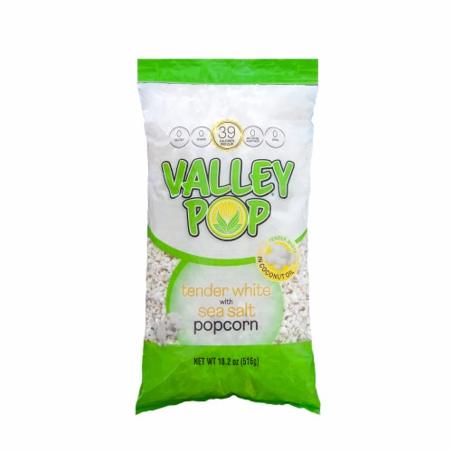 Valley Popcorn White Popcorn Perspective: front