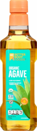 BetterBody Foods Organic Agave Perspective: front