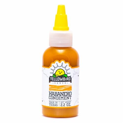 Yellow Bird Habanero Sauce Perspective: front