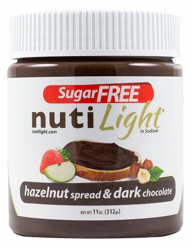 NutiLight  Hazelnut & Cocoa Spread Perspective: front