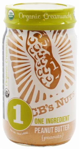 CB's Nuts Organic Creamunchy Peanut Butter Perspective: front