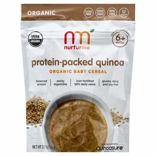 Nurturme Protein-Packed Quinoa Perspective: front