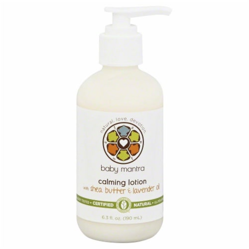 Baby Mantra Calming Lotion Perspective: front