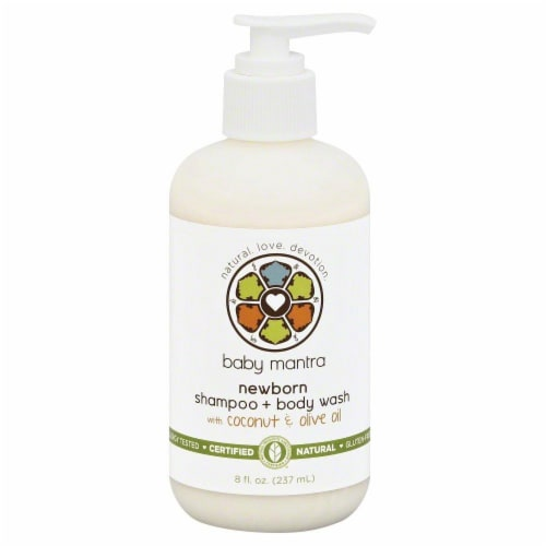 Baby Mantra Newborn Shampoo And Wash Perspective: front