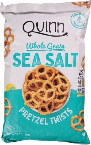 Quinn Classic Sea Salt Pretzel Twists Perspective: front