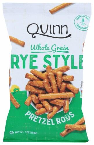 Quinn Whole Grain Rye Style Pretzel Rods Perspective: front