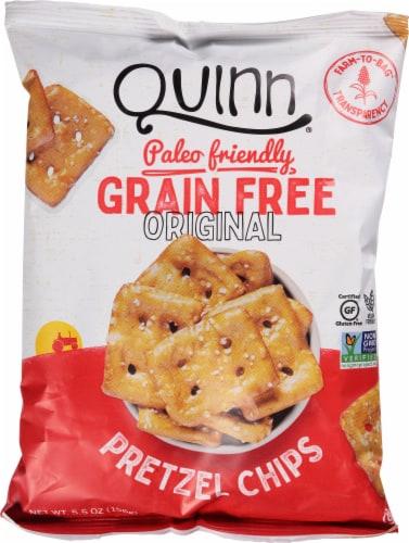 Quinn Grain Free Original Pretzel Chips Perspective: front