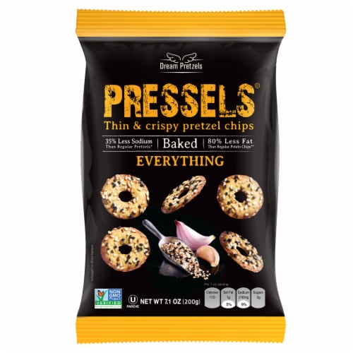 Pressels Everything Pretzel Chip Perspective: front