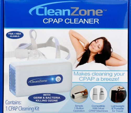 Clean Zone CPAP Cleaner Kit Perspective: front