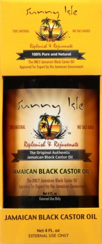 Sunny Isle Replenish & Rejuvenate Jamaican Black Castor Oil Perspective: front