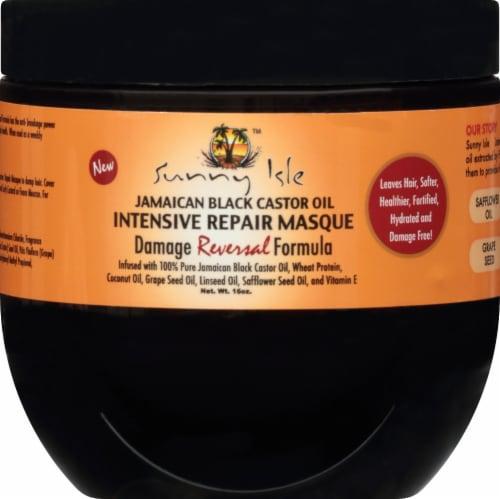 Sunny Isle Jamaican Black Castor Oil Intensive Repair Masque Perspective: front
