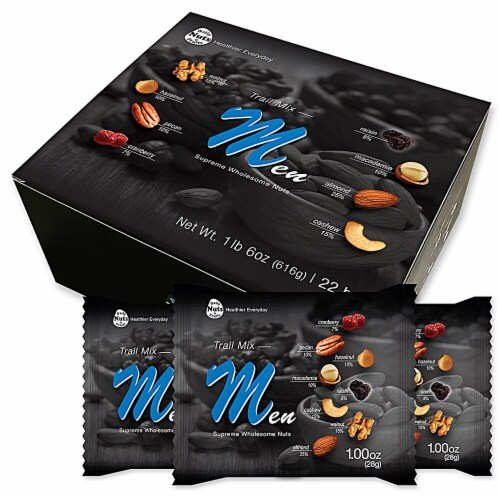 Daily Nuts & Fruits Trail Mix for Men Multipack Perspective: front