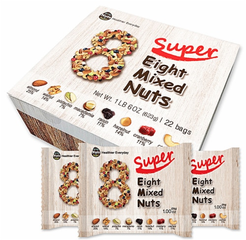 Daily Nuts & Fruits Super Eight Mixed Nuts Perspective: front