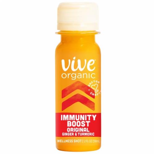 Vive Organic Original Immunity Boost Wellness Shot Perspective: front