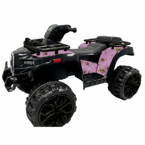Best Ride On Cars Realtree Sporty ATV 12V- Pink Perspective: front