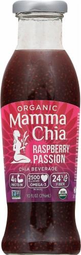 Mamma Chia Organic Raspberry Passion Chia Vitality Beverage Perspective: front