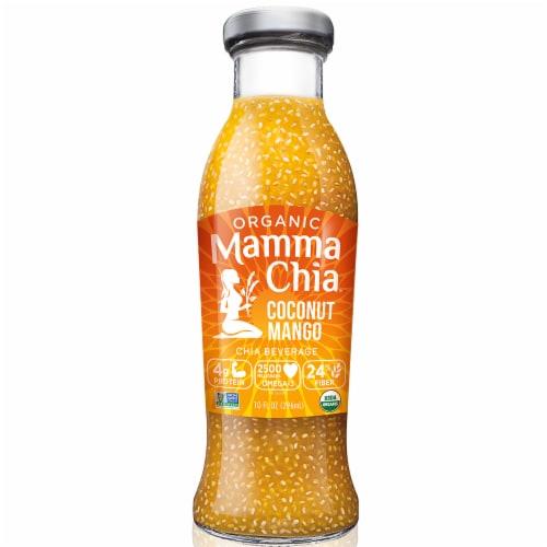 Mamma Chia Organic Mango Coconut Chia Beverage Perspective: front