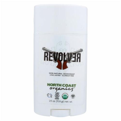 North Coast Organic Revolver Deodorant Perspective: front