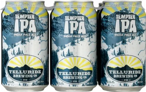 Telluride Tempter IPA Craft Beer Perspective: front