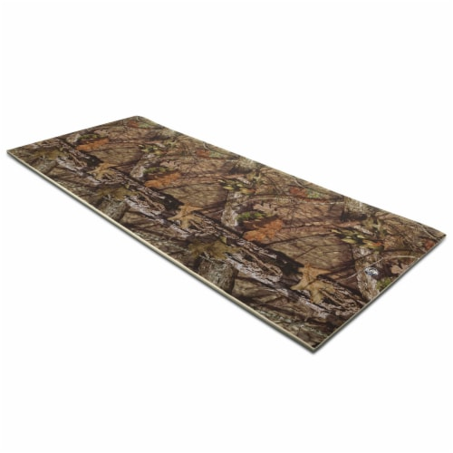 Floatation iQ Floating Oasis 15 x 6 Ft Foam Island Water Lake Pad Mat, Camo Perspective: front