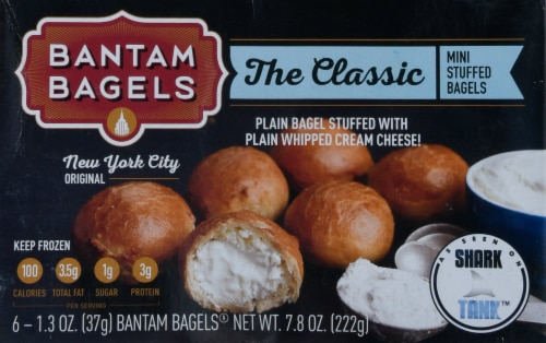 Bantam Bagels The Classic Mini Stuffed Bagels Perspective: front